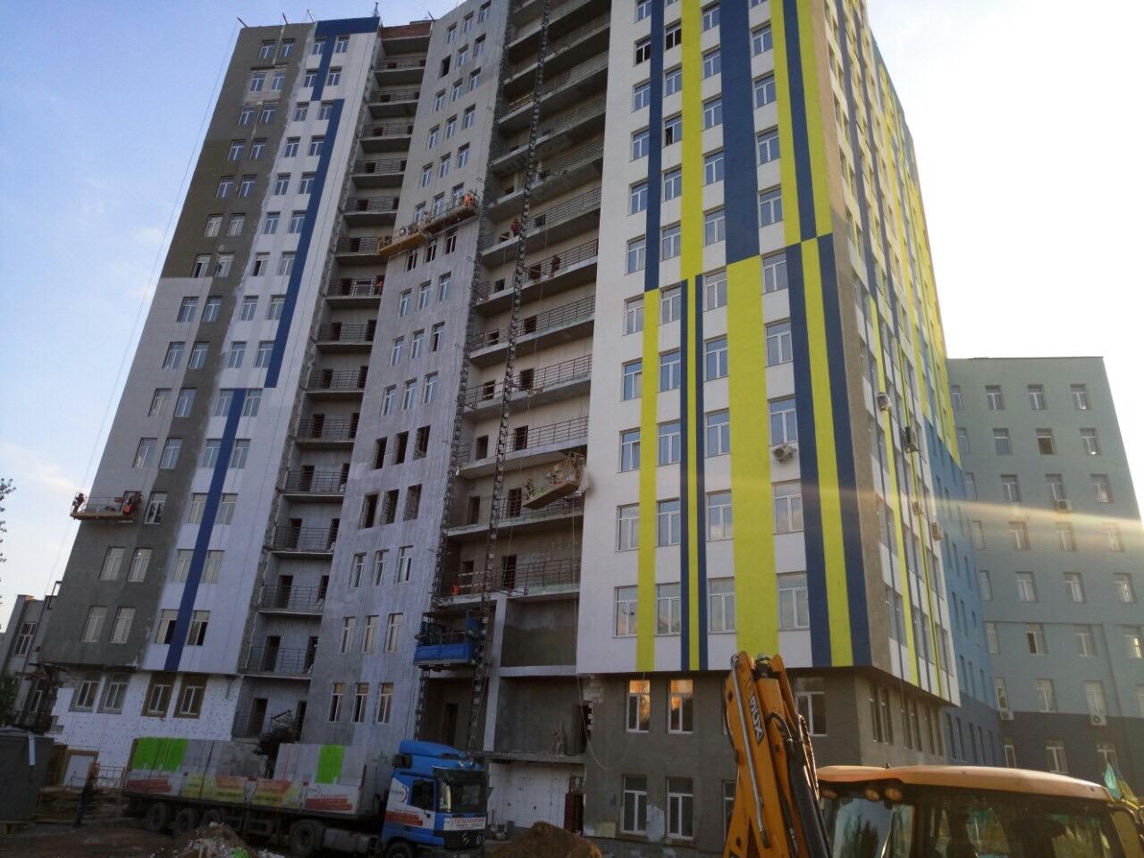Ход строительства на 21.10.2016