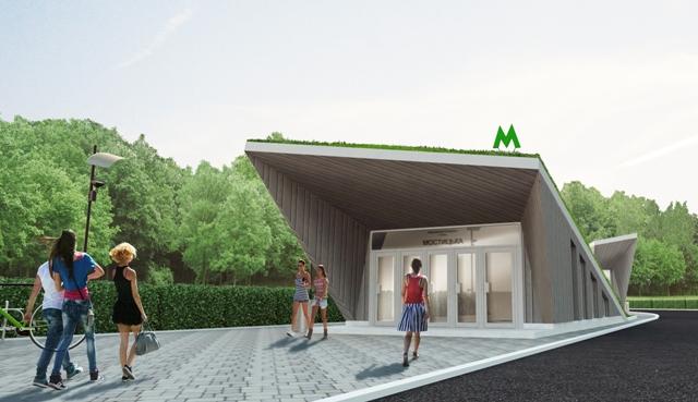 Архитекторы представили проекты интерьеров четырех станций метро на Виноградарь